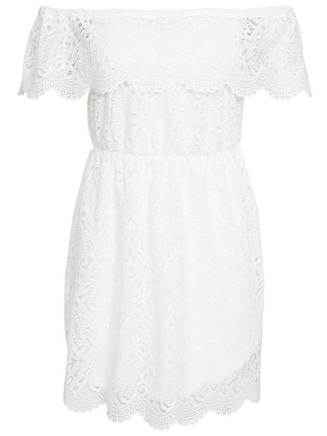 Lace bardot dress miss selfridge