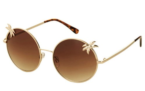 top shop palmtree sunnies