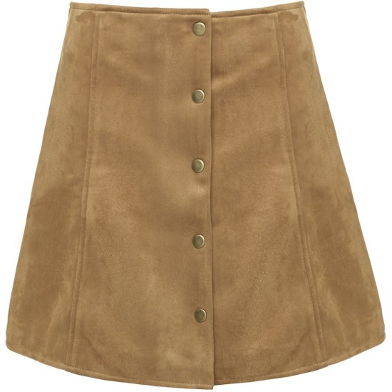 skirt_suede